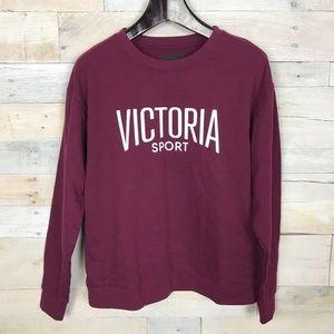 Victoria Secret Sport Purple Pullover Sweater S